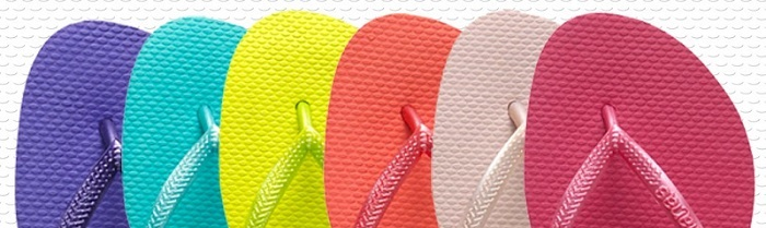 eb5a7a9e1aefb6 The Slim style is the largest family of flip flops in the Havaianas range.  They are designed specifically with women in mind with a narrower footbed  and ...